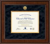 Presidential Registered Nurse Certificate Frame