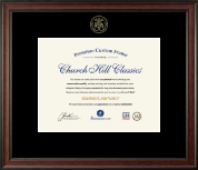 Embossed Registered Nurse Certificate Frame
