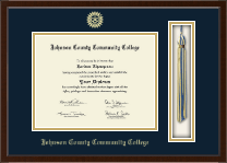 Johnson County Community College Diploma Frame - Tassel Edition Diploma Frame in Delta