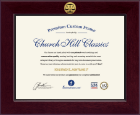 Legal Diploma Frames and Gifts Diploma Frame - Century Gold Engraved Law School Diploma Frame in Cordova
