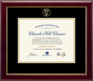 Veterinary Certificate Frames and Gifts Certificate Frame - Embossed Veterinary Certificate Frame in Gallery