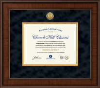 Presidential Medical Certificate Frame