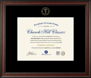 Medical School Certificate Frames and Gifts Certificate Frame - Embossed Medical Certificate Frame in Studio