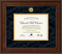 Chiropractic Certificate Frames and Gifts Certificate Frame - Presidential Chiropractic Certificate Frame in Madison