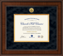 Optometry Certificate Frames and Gifts Certificate Frame - Presidential Optometry Certificate Frame in Madison