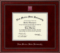 New Mexico State University in Las Cruces Diploma Frame - Presidential Masterpiece Diploma Frame in Jefferson