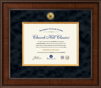 Pharmacy Certificate Frames and Gifts Certificate Frame - Presidential Pharmacy Certificate Frame in Madison