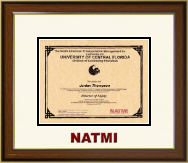 North American Transportation Management Inst Certificate Frame - Dimensions Certificate Frame in Westwood