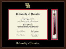 University of Houston Diploma Frame - Tassel Edition Diploma Frame in Delta