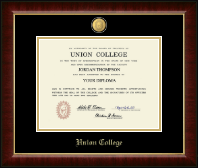 Awesome Union College In New York Diploma Frame   23K Medallion Diploma Frame In  Murano
