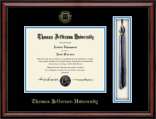 Thomas Jefferson University Diploma Frame - Tassel Edition Diploma Frame in Southport
