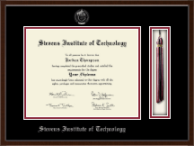 Stevens Institute of Technology Diploma Frame - Tassel Edition Diploma Frame in Delta