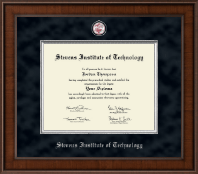 Stevens Institute of Technology Diploma Frame - Presidential Masterpiece Diploma Frame in Madison