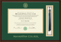 Manhattan College Diploma Frame - Tassel Edition Diploma Frame in Delta
