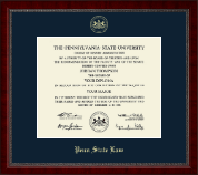 Pennsylvania State University Diploma Frame - Gold Embossed Diploma Frame in Sutton
