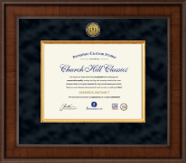 Academic Certificate Frames and Gifts Certificate Frame - Presidential Academic Certificate Frame in Madison