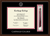 Carthage College Diploma Frame - Tassel Edition Diploma Frame in Delta