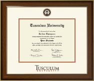 Tusculum University Diploma Frame - Dimensions Diploma Frame in Westwood