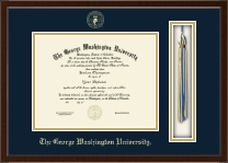The George Washington University Diploma Frame - Tassel Edition Diploma Frame in Delta