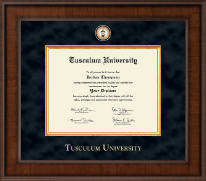 Tusculum University Diploma Frame - Presidential Masterpiece Diploma Frame in Madison