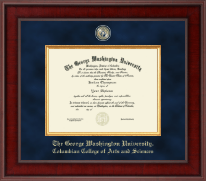 The George Washington University Diploma Frame - Presidential Masterpiece Diploma Frame in Jefferson