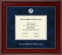 Lincoln Memorial University Diploma Frame - Presidential Masterpiece Diploma Frame in Jefferson