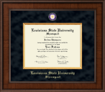 Louisiana State University at Shreveport Diploma Frame - Presidential Masterpiece Diploma Frame in Madison