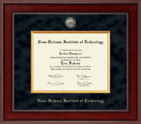 Rose Hulman Institute of Technology Diploma Frame - Presidential Masterpiece Diploma Frame in Jefferson