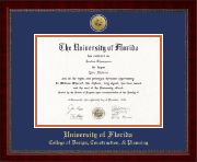 University of Florida Diploma Frame - Gold Engraved Medallion Diploma Frame in Sutton