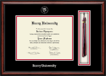 Barry University Diploma Frame - Tassel Edition Diploma Frame in Southport