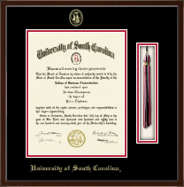 University of South Carolina Diploma Frame - Tassel Edition Diploma Frame in Delta