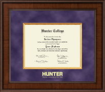 Hunter College Diploma Frame - Presidential Edition Diploma Frame in Madison