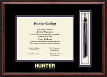 Hunter College Diploma Frame - Tassel Edition Diploma Frame in Southport