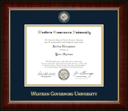 Western Governors University - Diploma Frames - Church Hill