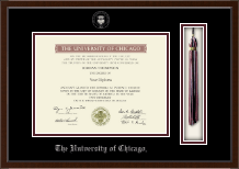 University of Chicago Diploma Frame - Tassel Edition Diploma Frame in Delta