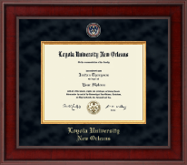 Loyola University New Orleans Diploma Frame - Presidential Masterpiece Diploma Frame in Jefferson