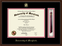 University of Maryland, College Park Diploma Frame - Tassel Edition Diploma Frame in Delta
