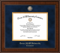 Texas A&M University - Commerce Diploma Frame - Presidential Masterpiece Diploma Frame in Madison