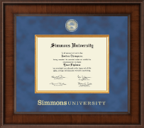 Simmons University Diploma Frame - Presidential Masterpiece Diploma Frame in Madison
