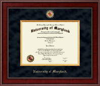 University of Maryland, College Park Diploma Frame - Presidential Masterpiece Diploma Frame in Jefferson