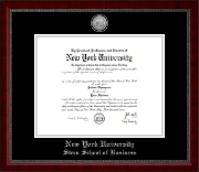 Nyu Diploma Frames For Stern School Of Business Church