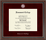 Rosemont College Diploma Frame - Regal Edition Diploma Frame in Chateau