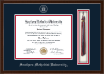 Southern Methodist University Diploma Frame - Tassel Edition Diploma Frame in Delta