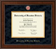 University of Houston - Victoria Diploma Frame - Presidential Masterpiece Diploma Frame in Madison