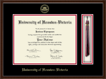 University of Houston - Victoria Diploma Frame - Tassel Edition Diploma Frame in Delta