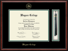 Wagner College Diploma Frame - Tassel Edition Diploma Frame in Southport