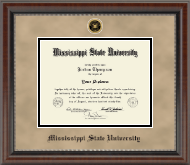 Mississippi State University Diploma Frame - Heirloom Edition Diploma Frame in Chateau
