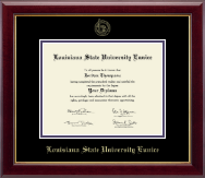 Louisiana State University at Eunice Diploma Frame - Gold Embossed Diploma Frame in Gallery