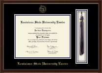 Louisiana State University at Eunice Diploma Frame - Tassel Edition Diploma Frame in Delta