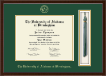 The University of Alabama at Birmingham Diploma Frame - Tassel Edition Diploma Frame in Delta